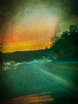 Evan William Plunkett - Late Drive Archival Pigment Print, Photography