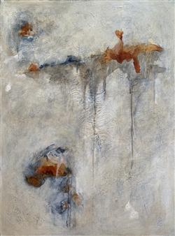 Alissa Van Atta - Foggy Bottoms Acrylic on Canvas, Paintings