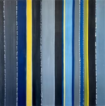 Mariela Soldano - In the Sea Acrylic on Canvas, Paintings