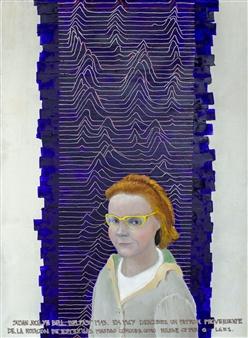 Jorge Garcia-Sainz - Jocelyn Bell Oil on Canvas, Paintings