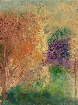 Jodi DeCrenza - Autumn Acrylic on Canvas, Paintings