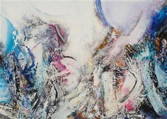 William Ingham - Transcendence Acrylic on Board, Paintings