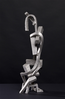Attila Mata - Female Geometry Stainless Steel, Sculpture