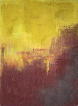 Susan Shade - House on the Hill Acrylic on Canvas, Paintings