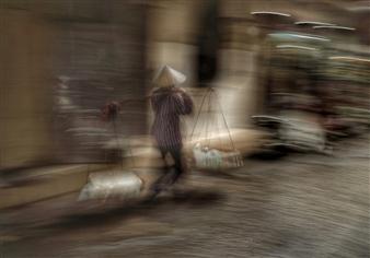 Danny Johananoff - Carrying the Night Photograph on Plexiglass, Photography