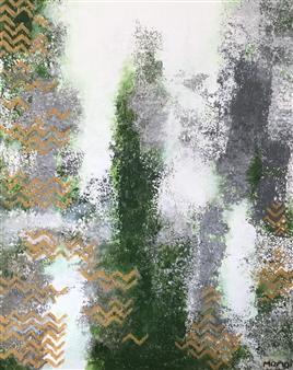 Mona Taqi - The Winter Acrylic on Canvas, Paintings