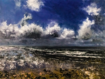 Deana Evstefeeva - Cumulus Guardians Paintings