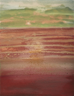 Israel Feldmann - Shimmer Pigment on Canvas, Paintings