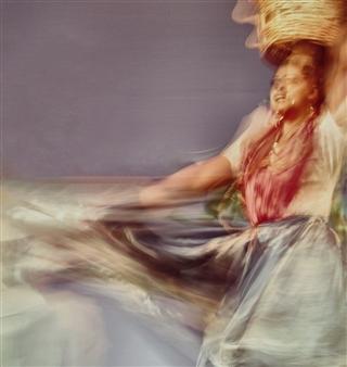 Danny Johananoff - Oaxaca Dance Photograph on Plexiglass, Photography