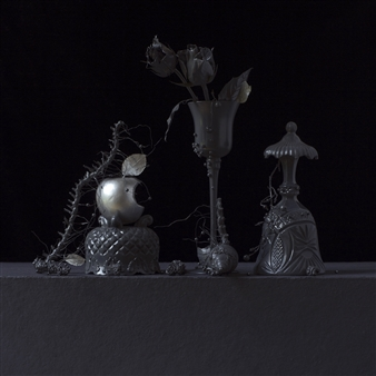 Art Golacki - Still Life in Grey with Familiar Apple / second variation Archival Pigment Print, Photography