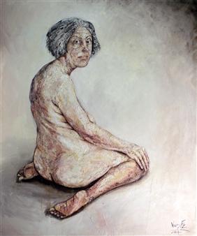 Germán Valles Fernández - Spiritul Flesh Oil on Canvas, Paintings