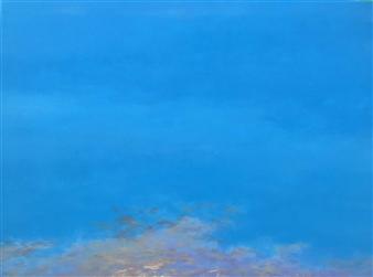 Jonathan Mann - Waiting Acrylic on Canvas, Paintings