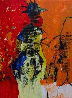Doofan Kwaghhool - Now 5 Acrylic on Canvas, Paintings