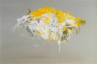 Gordana Tomic - Wall Street Bull Mixed Media on Canvas, Mixed Media