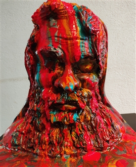 Vanessa Vilchis - Riflessione Fiberglass, Sculpture