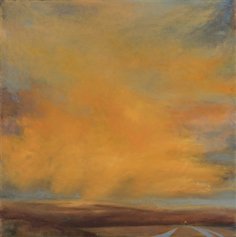 Margret Carde - Into Grace Oil on Canvas, Paintings