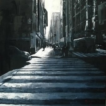 Emanuele Biagioni - In Controluce Acrylic, Paintings