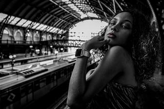 Roberto Silva - Estação da Luz Archival Pigment Print, Photography