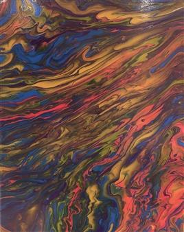 Deeya Mirchandani - Rediscovery Acrylic on Canvas, Paintings