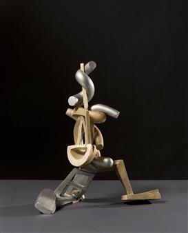 Attila Mata - Date Stainless Steel, Bronze, Sculpture