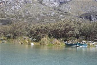 María Alejandra Ibáñez - Lake Boat Archival Pigment Print on Hahnemühle Paper, Photography