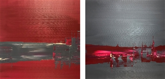 Gui Calil - Simple 2 and 3 Acrylic on Canvas, Paintings