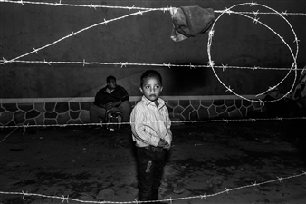 Ada Luisa Trillo - Barbed Wired at the Border Archival Pigment Print, Photography