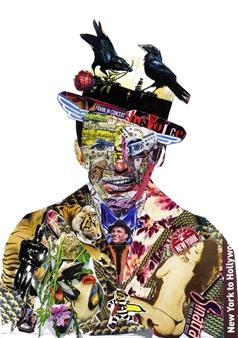 GLIL - Sinatra 3 Paper/Collage, Mixed Media