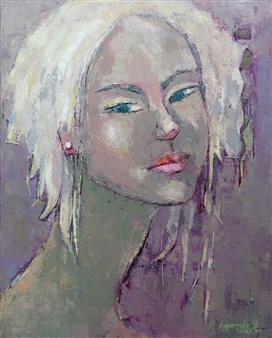 Becky Sungja Kim - Memory Oil on Linen, Paintings