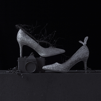 Art Golacki - Still Life in Wet with Andy's Shoes / second variation Archival Pigment Print, Photography