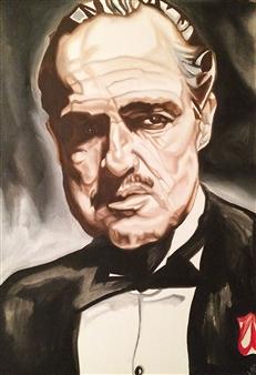 Lynde - Be a Man Giclee Print on Canvas, Prints
