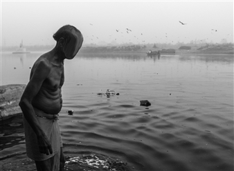 Faceless Kunst - The Ganga Digital C-Print, Photography