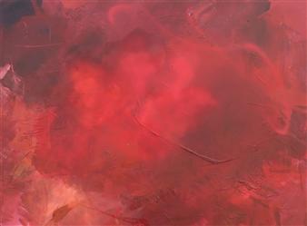 Abreesha Jones - Open Experiences Acrylic, Spray Paint, Oil Pastel on Canvas, Mixed Media
