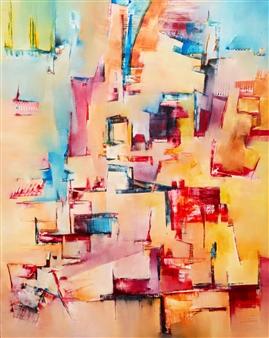 Bimbi Larraburu - Arqa Oil on Canvas, Paintings