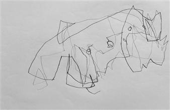 Marek Wasylewicz - VvA-G Pencil on Paper, Drawings