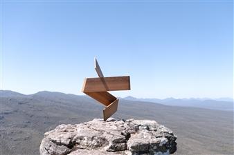 Luke David Designs - Twists and Turns Wood, Sculpture