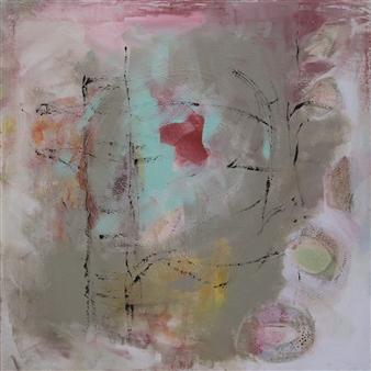 Gerlinde Amei Wöllmer - Abstrakt Mixed Media & Acrylic on Canvas, Mixed Media