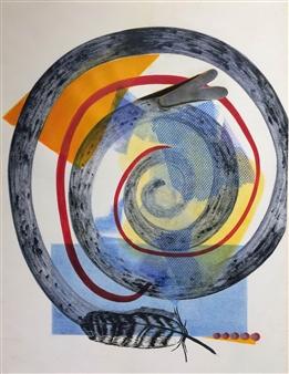 Donna Broder - Verge of Extinction #1 Monotype on Fine Art Paper, Prints