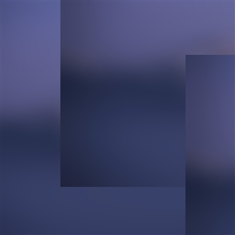 Ana Leal - Blurry Calm 1 Photography on Canvas, Photography