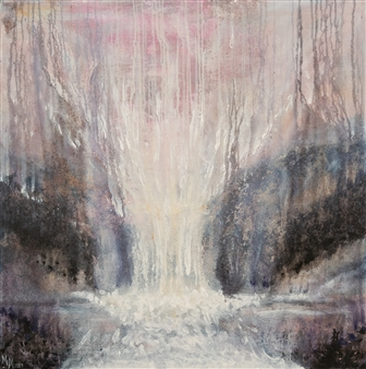 Marilyn MEM Miller - The Source of Light Acrylic on Canvas, Paintings