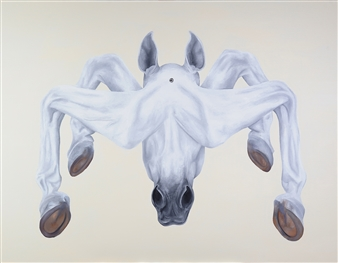 Vicente Marzal - The Energy of Horse Giclee Print on Paper, Prints