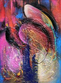 Saurabh Mohan - Worship Acrylic on Canvas, Paintings