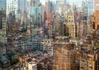 Shifra Levyathan - City Density 01 Digital C-Print, Photography