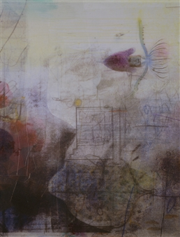 Sheree Friedman - Submerged Memories - Original work Mixed Media on Canvas, Mixed Media