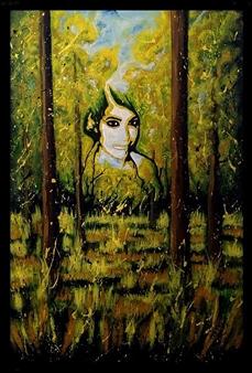 Salvatore Petrucino (Totó) - Madre Natura. Acrylic on Canvas, Paintings