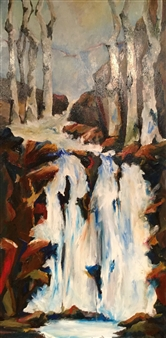 D. L. Brabander - Spring Thaw III Oil on Canvas, Paintings