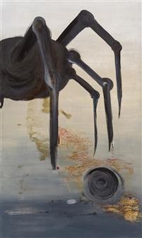 YeonSoo Kim - Tarantulas-1701 Acrylic on Canvas, Paintings