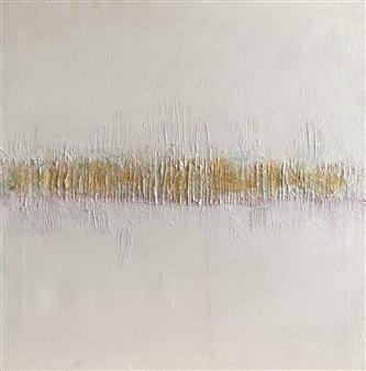Gia Sabatini - Vibrations II Acrylic & Mixed Media on Canvas, Mixed Media