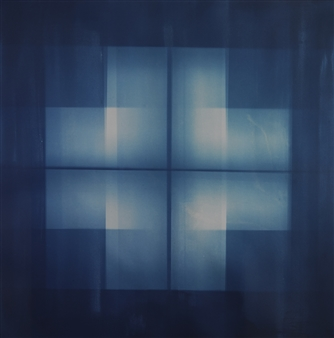 Iswanto Soerjanto - Cross Cyanotype on Arches Paper, Photography