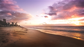Mireille Pizzo - Sunrise in Paradise Photograph on Fine Art Paper, Photography